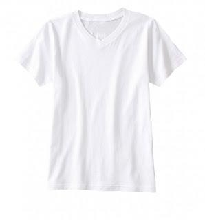Perawatan Kaos Berwarna Putih