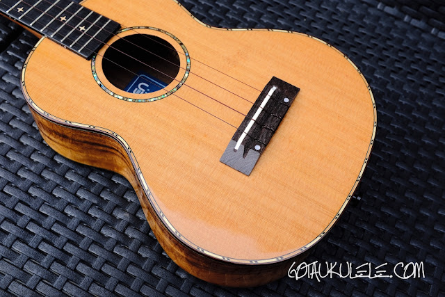 World of Ukes Eden Origin Tenor Ukulele  body