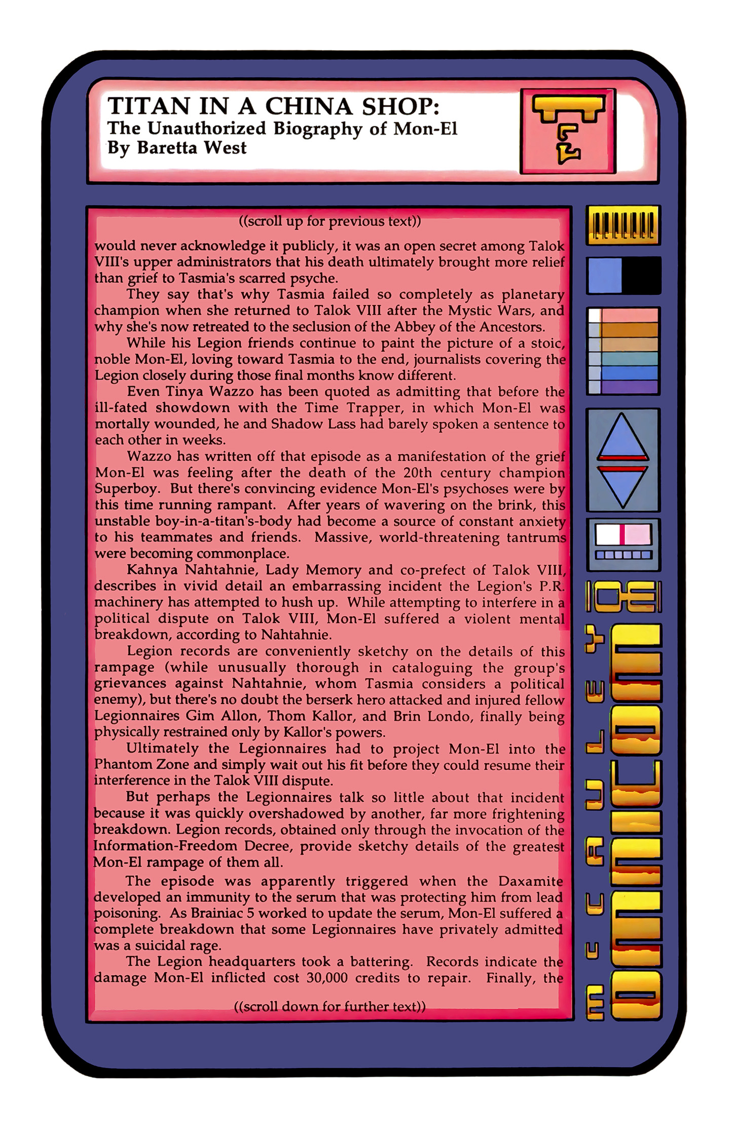 Legion of Super-Heroes (1989) 4 Page 23