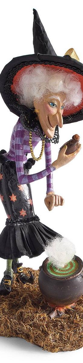 Grandin Road Opal Witch Figure