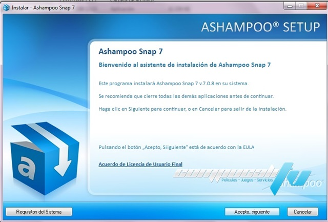 Ashampoo Snap 7.0 Español Tome Capturas Facilmente