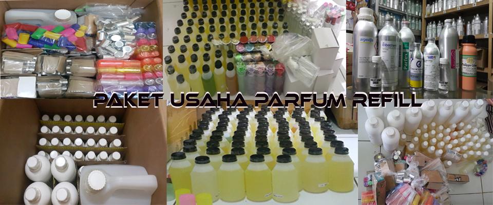 Paket Usaha Parfum refill isi ulang