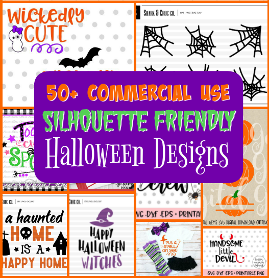 silhouette designs, halloween svgs, silhouette cameo, silhouette tutorials
