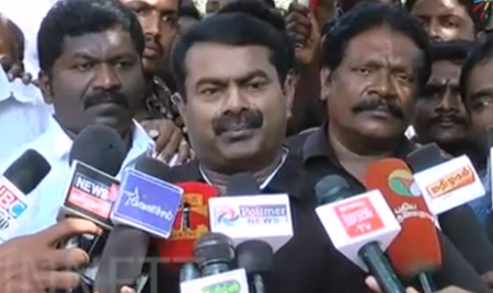 Governor rule in Tamil nadu – Seeman speech