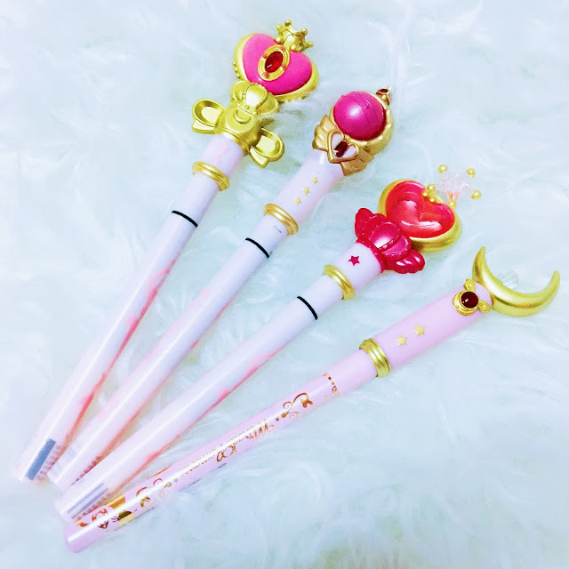 Sailormoon Miracle Romance Eyeliners; Sailormoon Miracle Romance Liquid Eyelibers; Miracle Romance Sailormoon Eyeliner Review