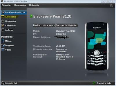 Instalar idioma español en una BlackBerry