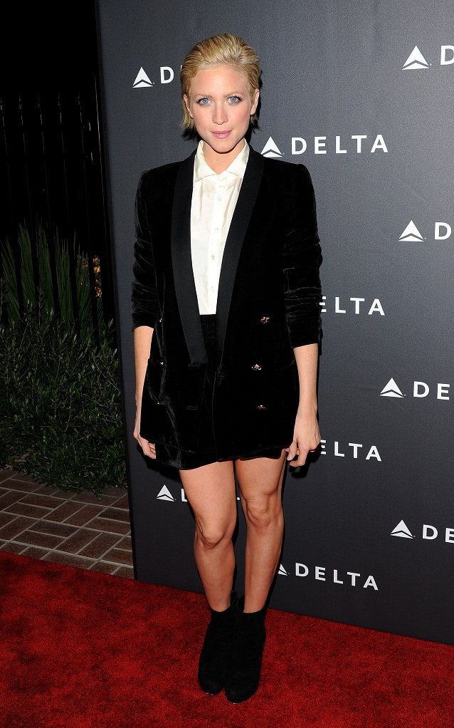 Brittany Snow - Delta Airlines GRAMMY Week LA Reception (Feb. 7) 2013