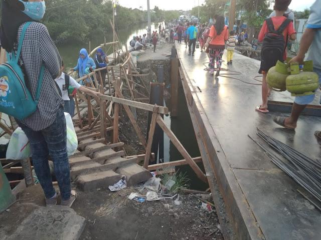 Proyek Jembatan Titi Dua Sicanang Banyak Masalah, Sikap Inspektorat Begini