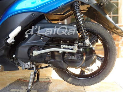 tegakkan sepeda motor