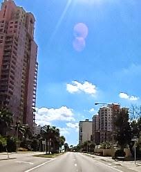 Straße von Fort Lauderdale