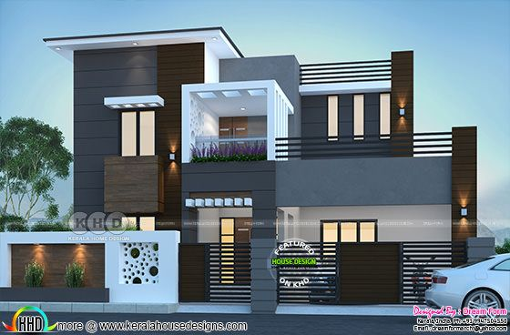 274 sq-m modern contemporary house