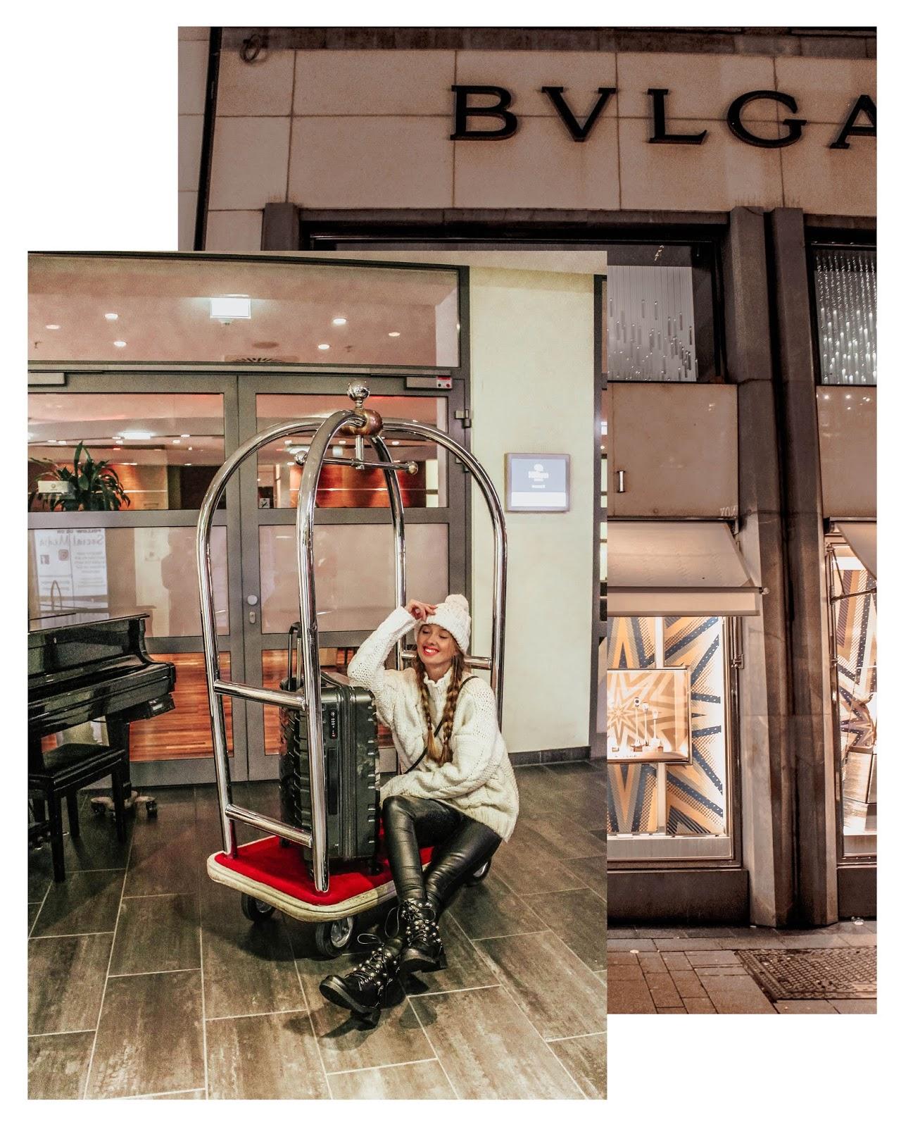 hotel Luggage Trolley Fashion Travel Blogger