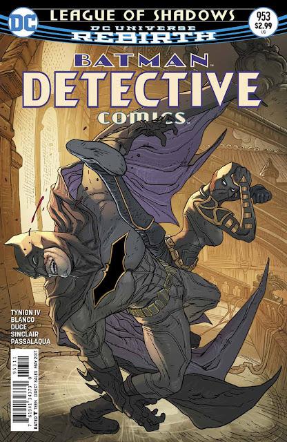 DETECTIVE COMICS 953