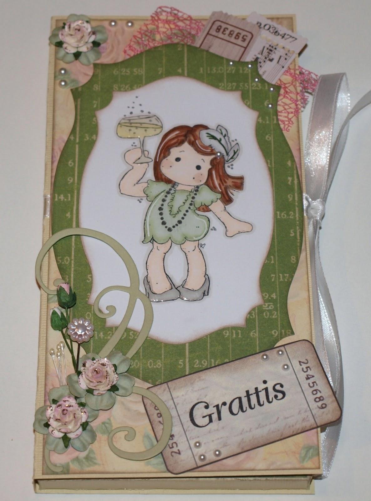 Här är framsidan av kortet. Den söta stämpeln kommer från magnolia och är  målad med promarkers och mcp-teknik. Jag tycker att det är ett rätt roligt  sätt ... 36468fe0b648f