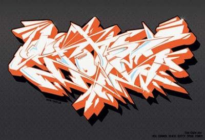 GRAFFITI FONTS Graffiti Sketches Wildstyle Graffiti Vector