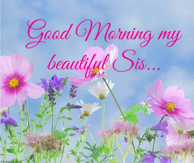 good morning my beautiful sis