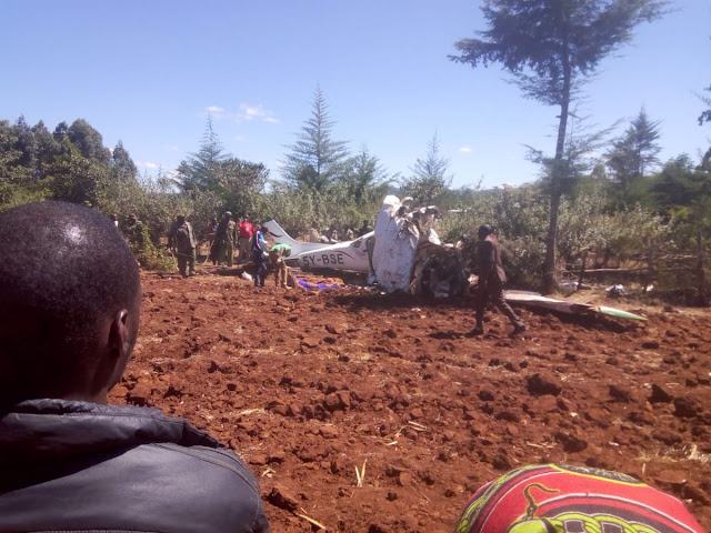 5 Queue At Gates Of Heaven As Helicopter Crashes In Londiani