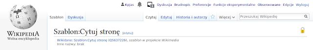 Polska Wikipedia data mining przypisy {{Cytuj stronę}}