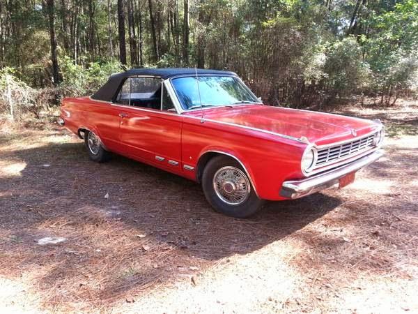 1965 Dodge Dart GT Convertible