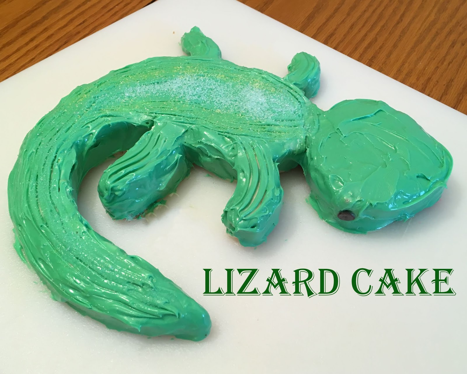What I Live For: Lizard Cake
