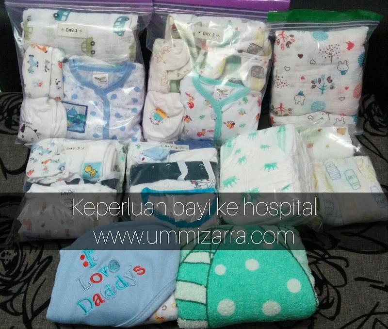 Persediaan Keperluan Bayi Ke Hospital Sebelum Bersalin