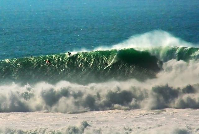As ondas gigantes de Maveriks