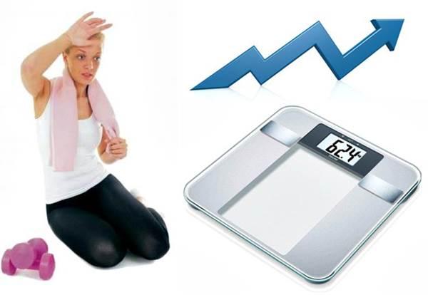 Al hacer ejercicio puedes lograr bajar de peso pero también puedes aumentar tu peso