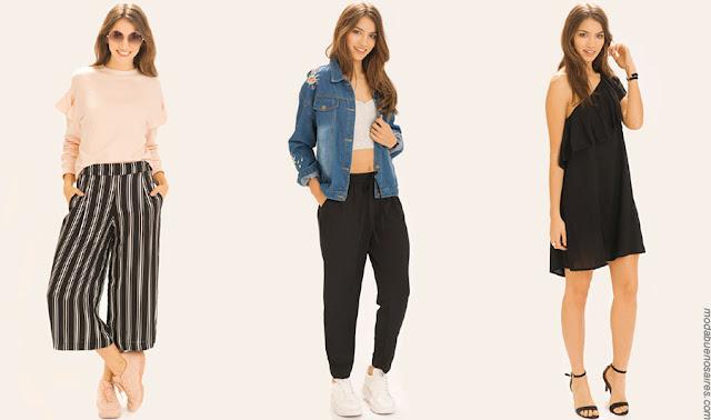 Moda primavera verano 2018 ropa de mujer. Moda verano 2018 ropa de mujer.