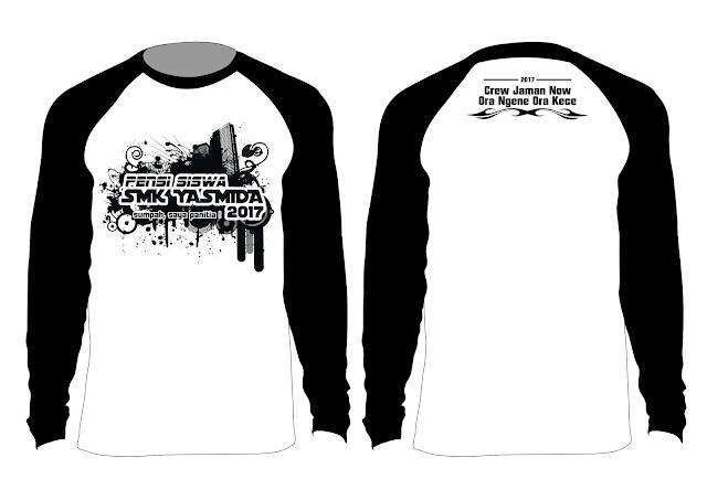 Design Kaos Panitia Pensi SMK Yasmida Ambarawa