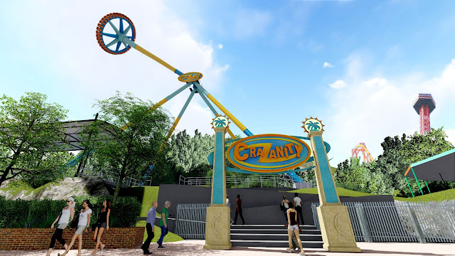 six flags magic mountain new ride 2018 crazanity