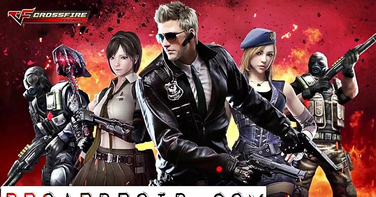 لعبة Crossfire Legends V1088 كاملة للأندرويد اخر اصدار محترف