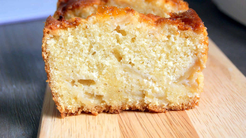 Moist Cake Aux Pommes Apple Loaf Cake Fleur D Oranger Masala Co