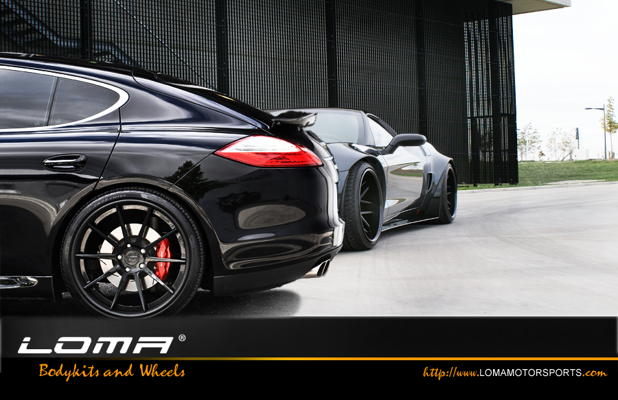 21 Inch Black Series On The Panamera And 20 Gt1 Wheels Corvette Widebody