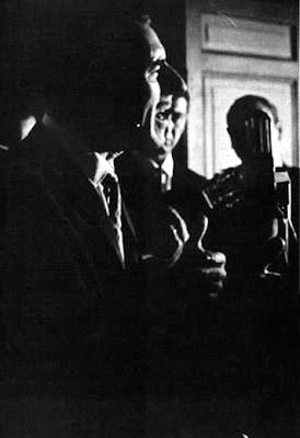 Edmundo Rivero en la noche inagural de El viejo Almacen(1969)