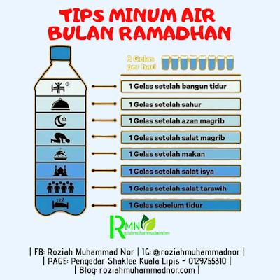 Tips Minum Air Bulan Ramadhan