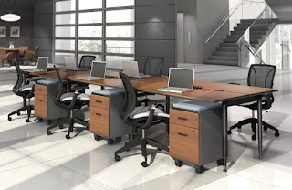 Collaborative Office Benching System