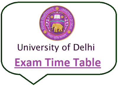 Delhi University Even Sem Date Sheet 2021