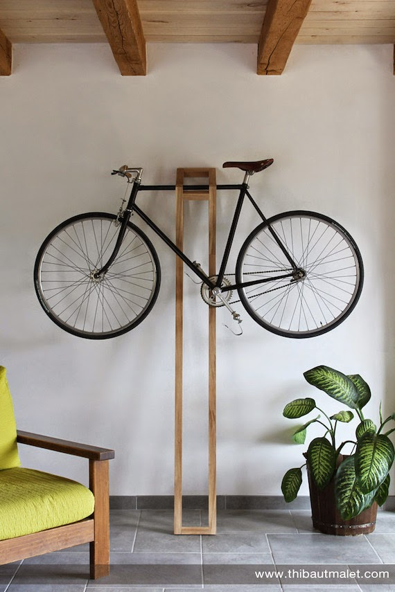 decorar con bicicletas