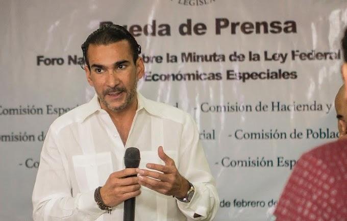 MELGAR ANUNCIA FORO NACIONAL SOBRE LA MINUTA DE LA LEY FEDERAL DE ZONAS ECONÓMICAS ESPECIALES