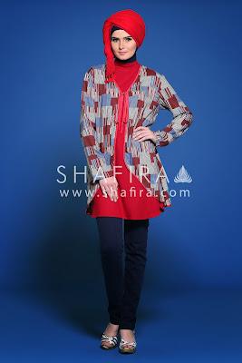Model Baju Muslim Wanita Shafira Terbaru