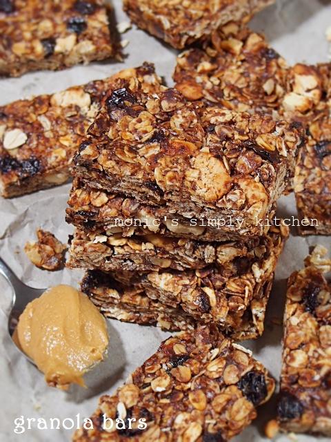 resep granola bars praktis tanpa oven