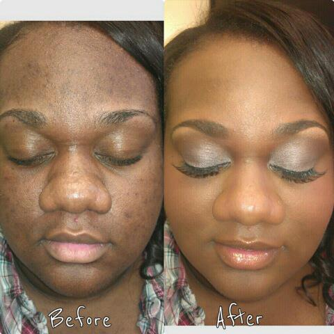 Incredible Before And After Make Up Photo Of An Ugly Girl ...
