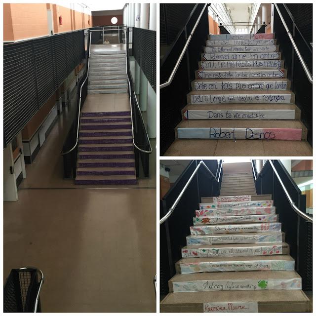 Escaleras versos