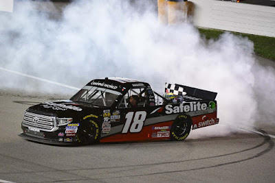 Noah Gragson Collects First Win of 2018 with Dominant Performance at Kansas - #NASCAR