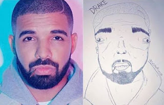 WTF! See this Drawing of Drake