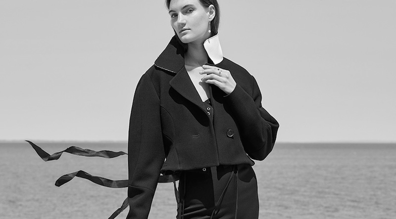 the shape of things to come: hanna hansen by manolo campion for neue journal!