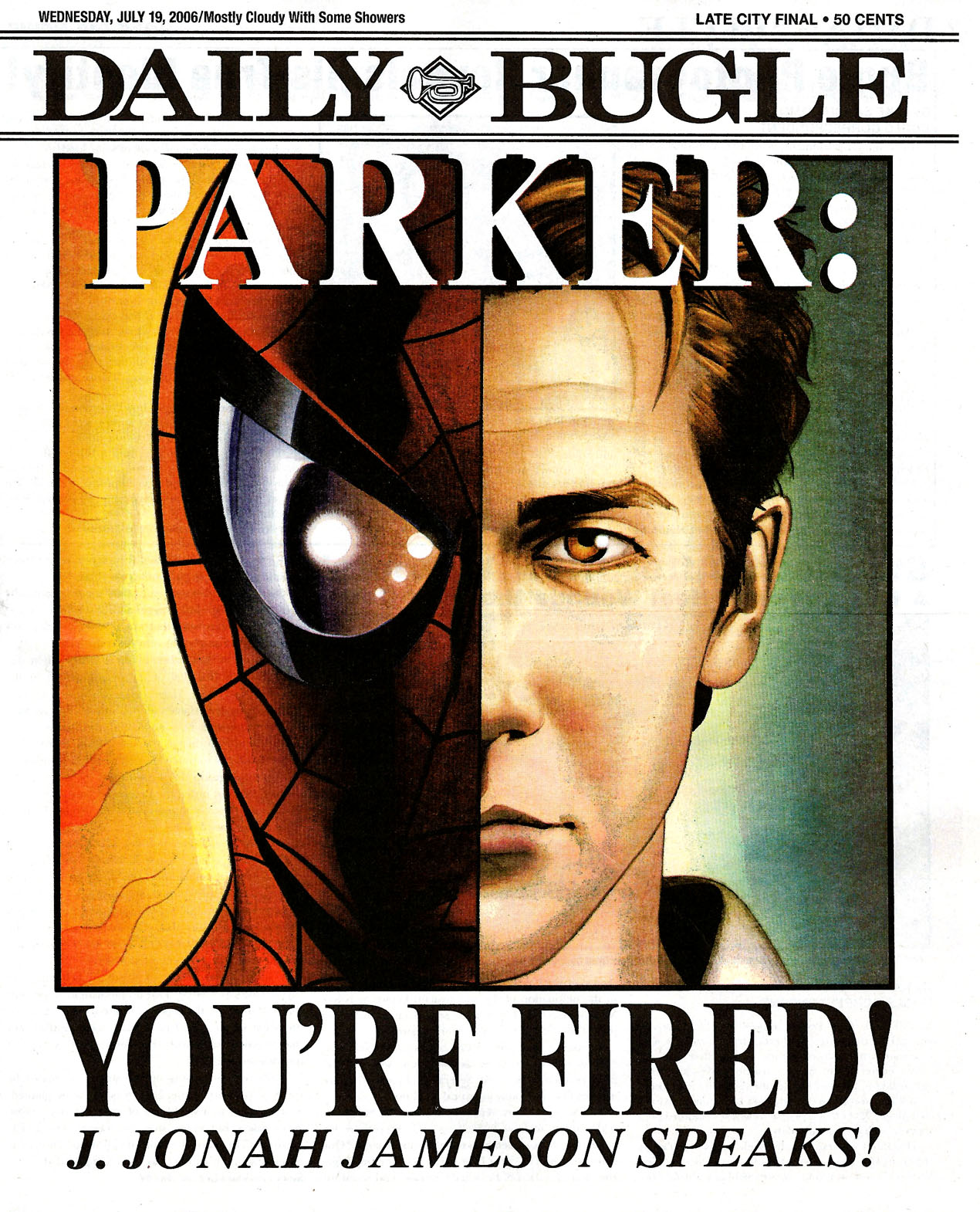 Read online Daily Bugle (2006) comic -  Issue #0 - 1