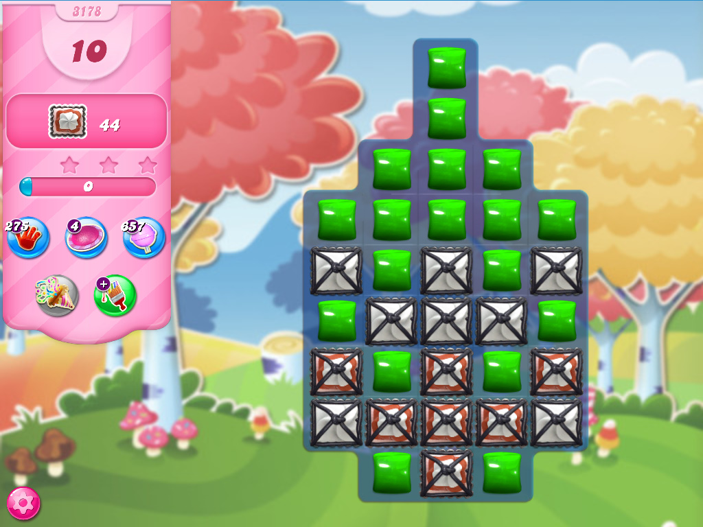 Candy Crush Saga level 3178