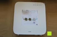 vorne: Beurer LR 300 Luftreiniger mit HEPA Filter für 99,5% Filterleistung, ideal bei Heuschnupfen und zur Allergievorbeugung