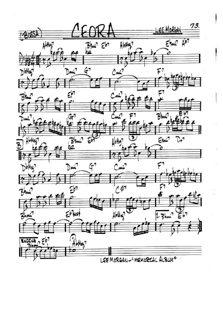 Partitura Violonchelo Lee Morgan